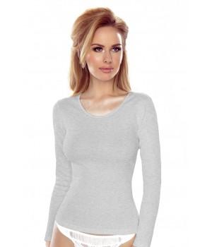 Женская классическая футболка с длиннымрукавом Eldar Irene plus