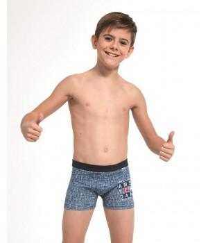 Хлопковые трусы боксеры для мальчика Cornette 700 Young 2020