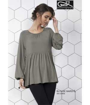 Женская блуза-туника с широкимрукавом Gatta Marseille