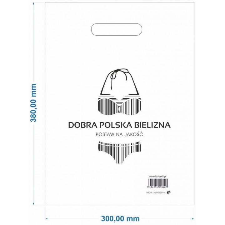 Рекламный пакет ЛАДНО ПОЛЬША БЕЛЬЕ GR 0,055 мм БОЛЬШОЙ-25шт