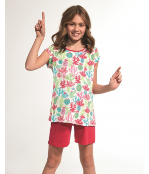 Хлопковая пижама для девочки Cornette KR 357/79 Cactus