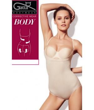Женское моделирующее боди с открытым лифом Gatta Corrective Wear