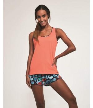 Женская летняя пижама с маичкой Cornette 375/184 Cactus 4