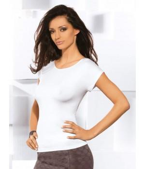 Энская тонкая блуза с короткими рукавами Babell Kiti