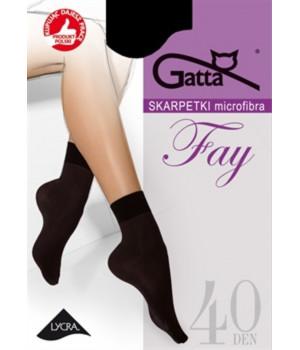 Женские носки из микрофибры GATTA FAY 40 DEN