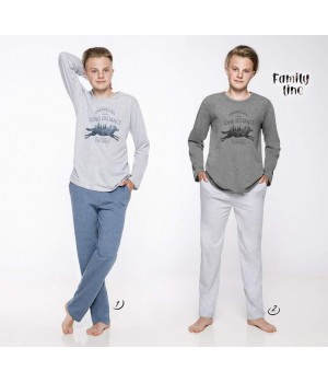 Пижама/ домашний комплект с карманами для мальчика Taro 1175 Karol