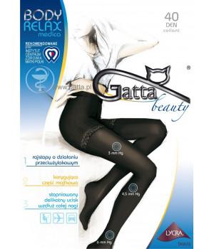 Женские антиварикозные колготки GATTA BODY RELAX MEDICA 40 DEN
