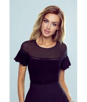 Женская блуза в испанском стиле с микросеткой Eldar Dita