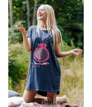 Женская модное домашнее платье свободного кроя Key LND 600 A20