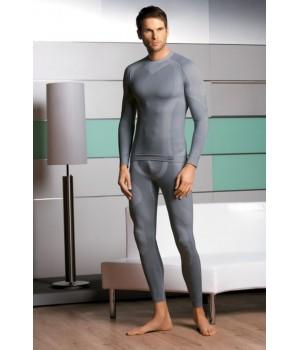 Мужская термофутболка с добавлением шерсти Hanna Style 05-21 Welna