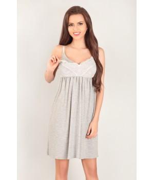 Хенская ночная сорочка для беременных и кормящих Lupoline 3043