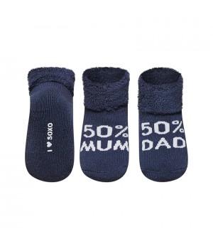 """НОСКИ SOXO """"I LOVE MUM, I LOVE DAD"""""""