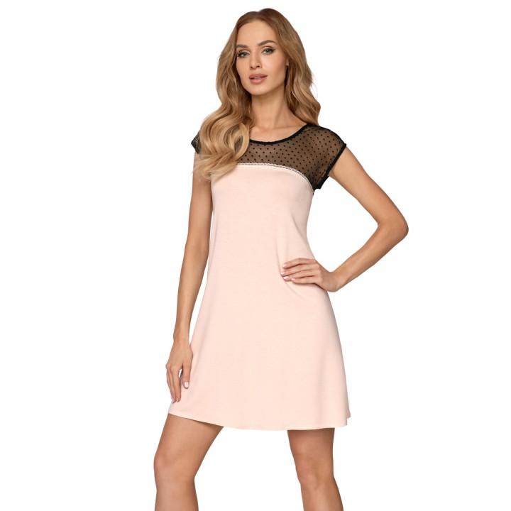 Женская ночная сорочка с ажурным верхом Babella Ariana