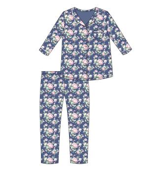 Пижама DR 482/283 CINDY