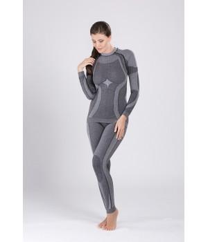 Женские термолеггинсы с добавлением шерсти Hanna Style 06-120 Welna