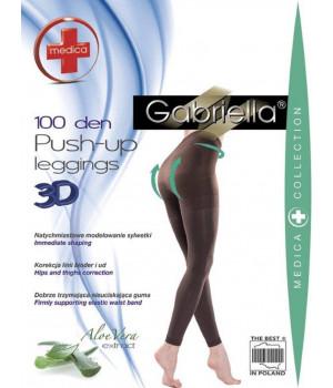 Моделирующие леггинсы с ффектом пуш-ап Gabriella Medica push-up 100den