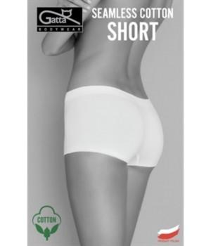 Женские трусики-шорты мини Gatta Seamless Cotton Shorts